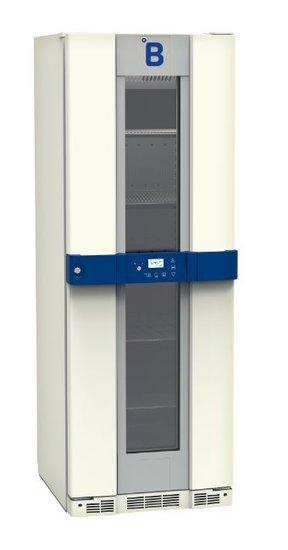 B Medical P290 medicijn / laboratorium koelkast DIN 58345 met glasdeur