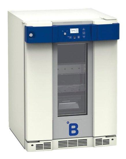 B Medical B131 bloedkoelkast DIN 58371 met glasdeur