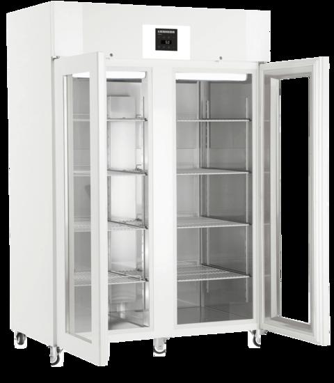 Liebherr LKPv 1423 laboratorium dubbeldeurs koelkast met glasdeuren